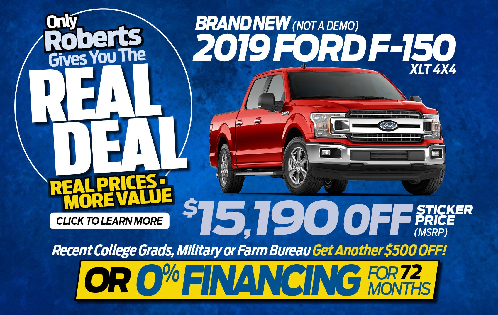 Car Dealerships That Pay Off Your Trade >> Ford Dealer In Alton Il Used Cars Alton Roberts Motors Inc